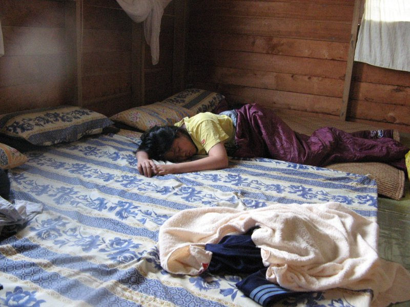 We slept in this room. Night is cold. Pa Dalih is the southern most Kelabit longhouse