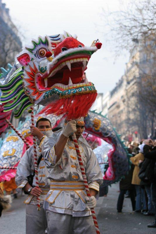 Défilé du nouvel an Chinois 2007, lannée du cochon