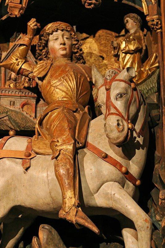 Visite du musée des beaux arts de la ville de Lille - Saint-Georges terrassant le dragon