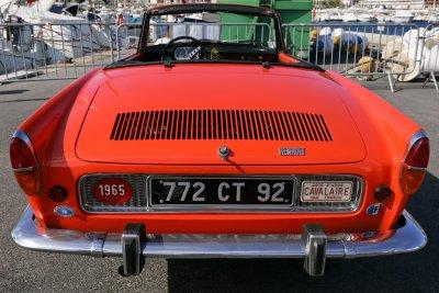 Une Caravelle Renault de 1965 en parfait état découverte à Cavalaire