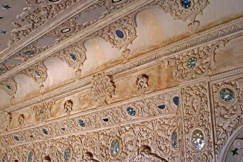 Qajar period mansion detail