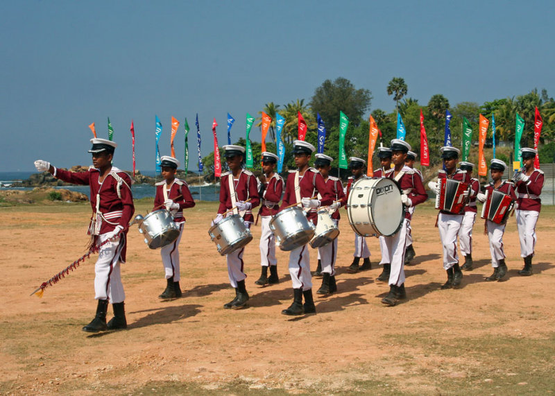 Galle school band
