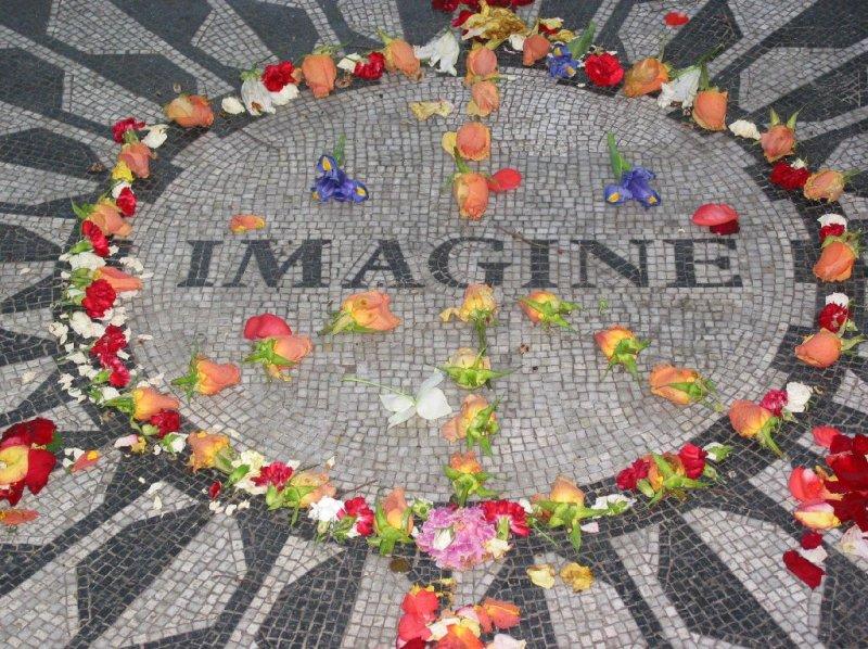 Imagine, Strawberry Fields, Central Park, NYC