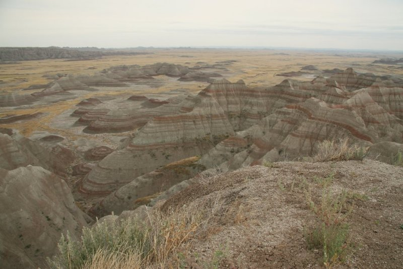 The Other Side Of The Road, Badlands National Park, South Dakota