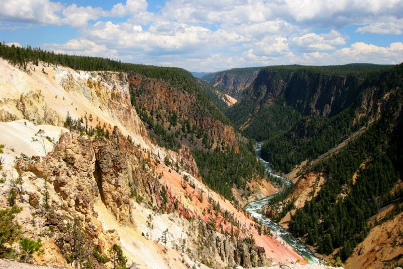 Yellowstone Canyon, Yellowstone National Park