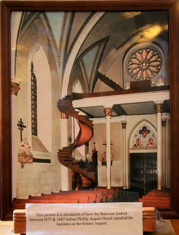 Miraculous Stairway of the Loretto Chapel