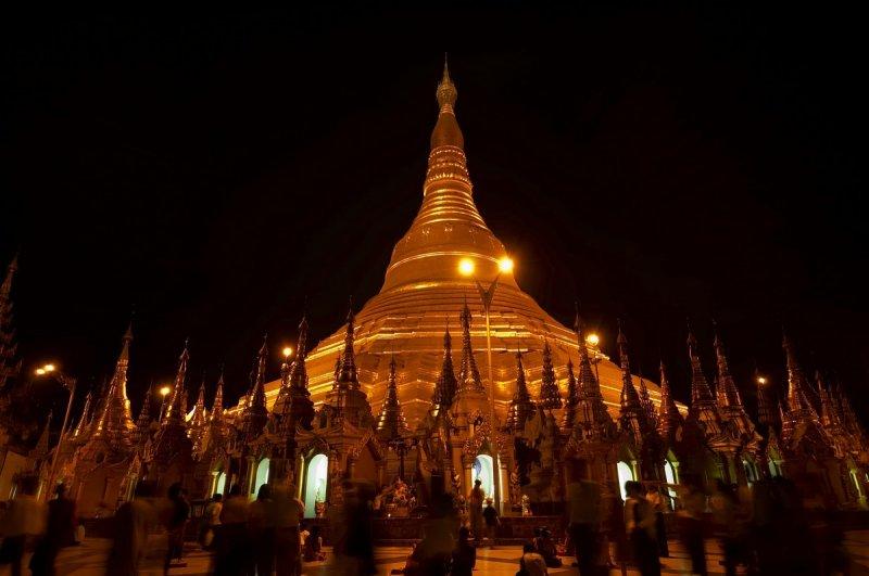 Night Shwedagon