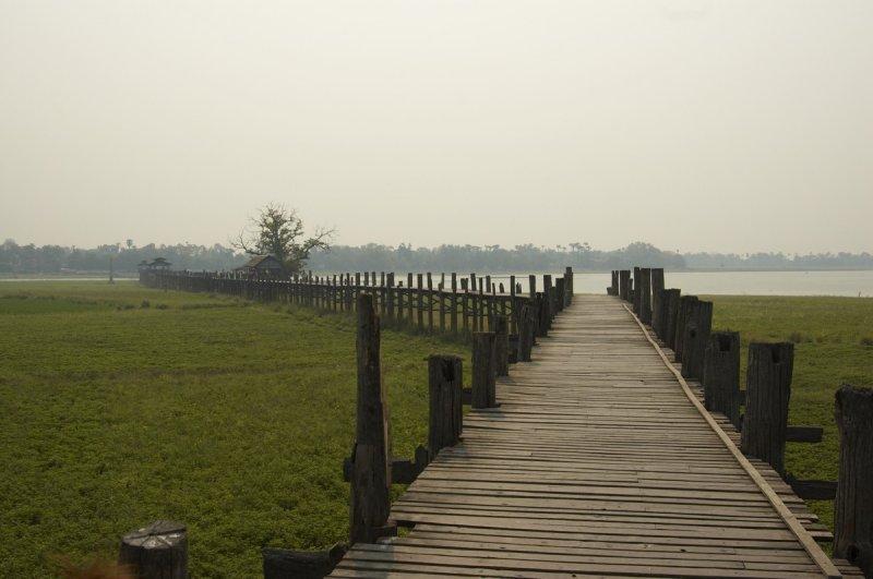 U Bein teak bridge, Amarapura