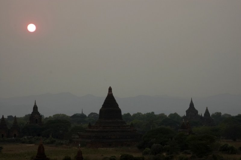 Bagan, before sunset