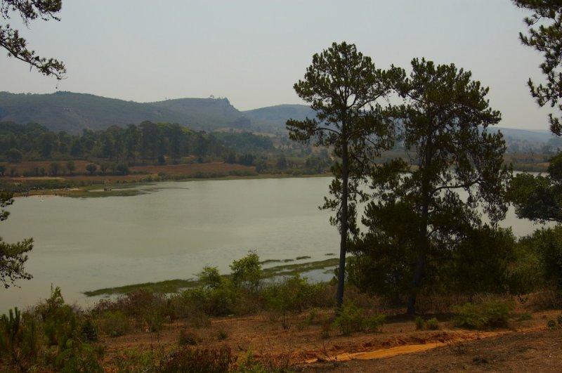 Lake near Pindaya