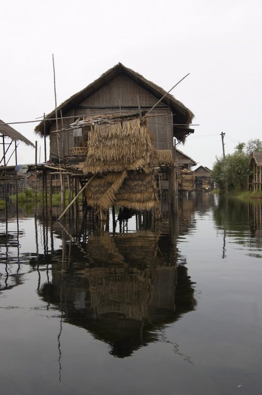 House of a fisherman, Inle lake