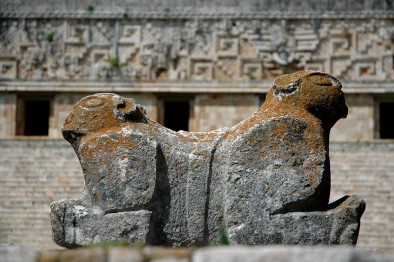 Jaguar with two heads - Uxmal