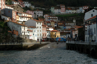 Cudillero from the port