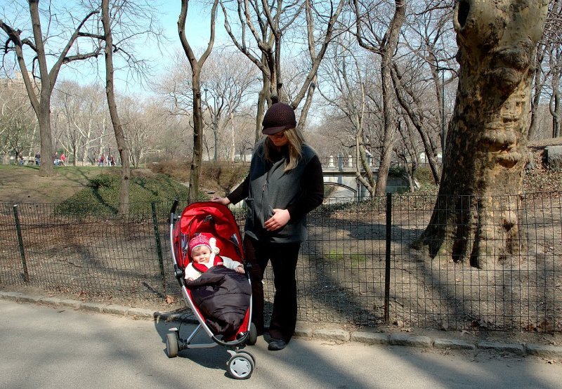 Solange and Catherine in Central Park