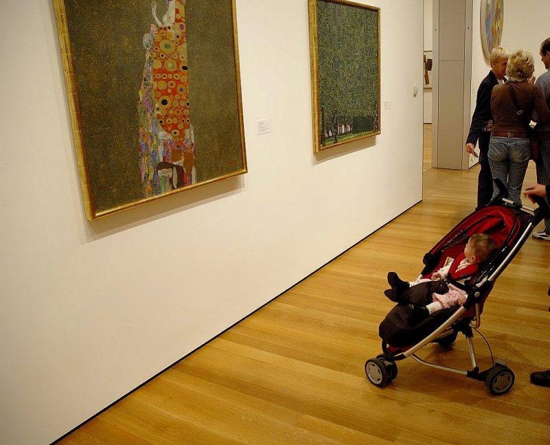 Catherine at MoMA - Art appreciating Art