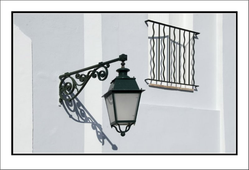 Lamp & Balcony