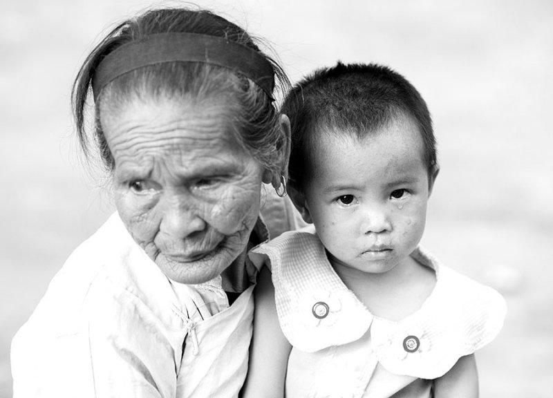 Remote village, China. 2006