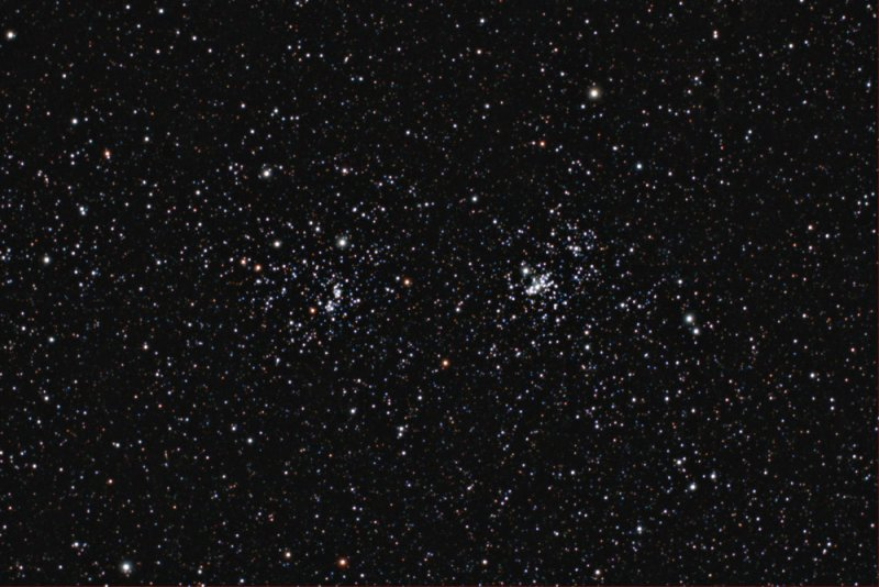 NGC884/869 - Double Cluster in Perseus