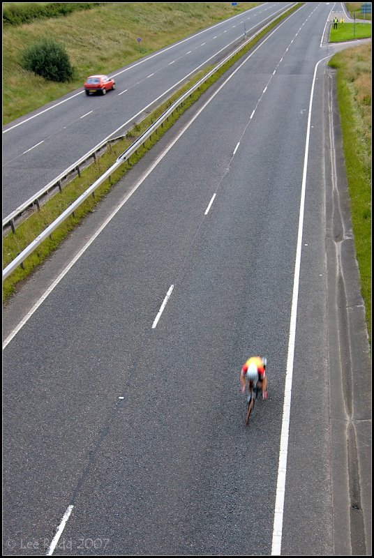 Lonliness of the Long Distance Cyclist