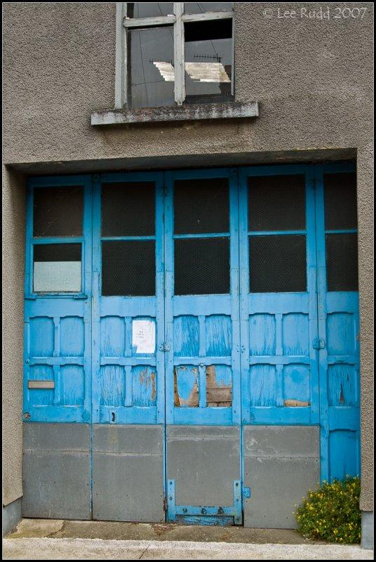 Blue Door and Skylight