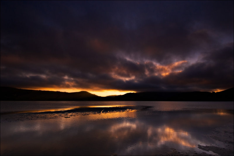 Hoopers Inlet at Sunset