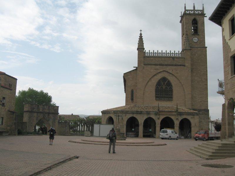 The church at Obanos
