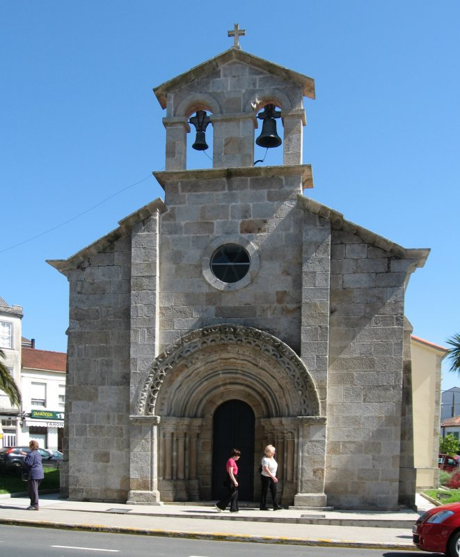 Capilla de San Roque in Melide