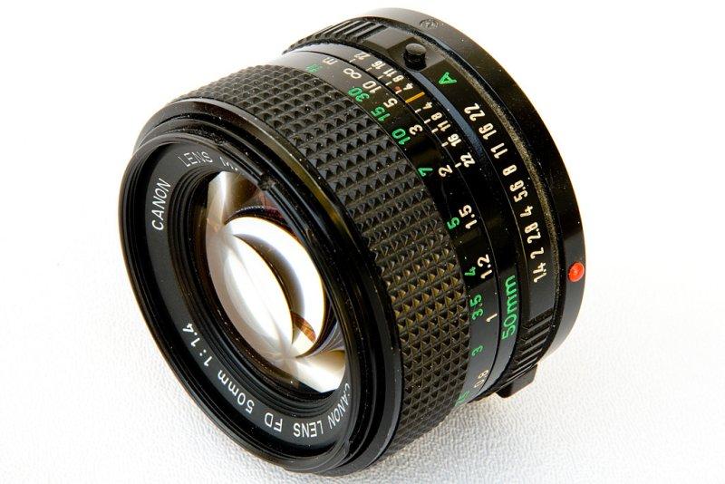 Canon Lens New FD 50mm f/1.4