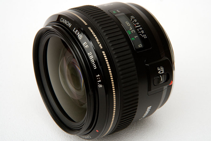 Canon Lens EF 28mm f/1.8