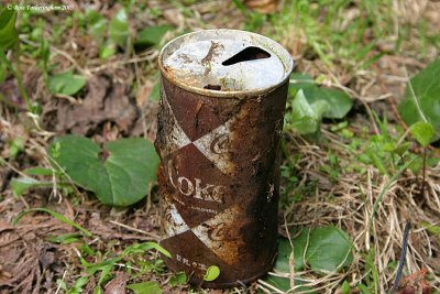Old Coke Can