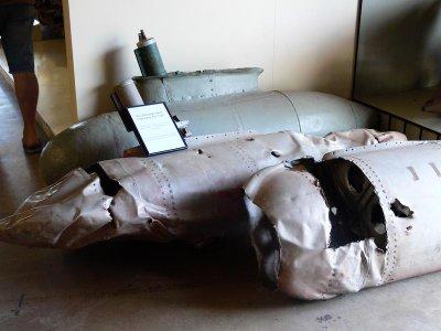 Remains of a Mitsubishi Zero