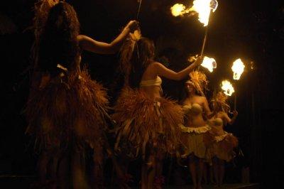 Fire Dance - Honolulu