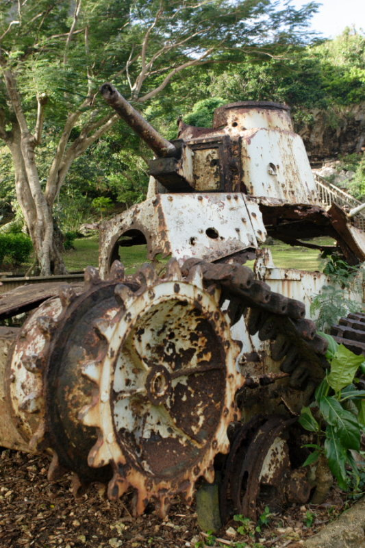 Old Japanese WWII Tank