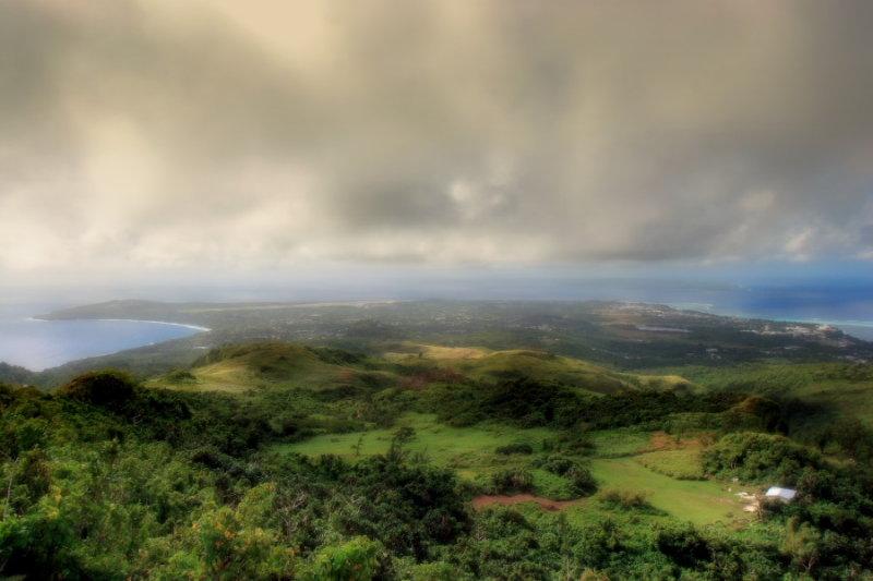 Saipan Island Looking South
