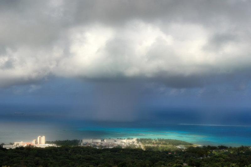Saipan Island Looking West (Garapan)