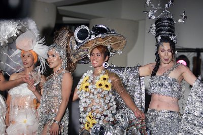 Recycled Products Fashion Show Contest Winners