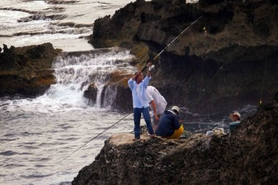 Cliff Fishing