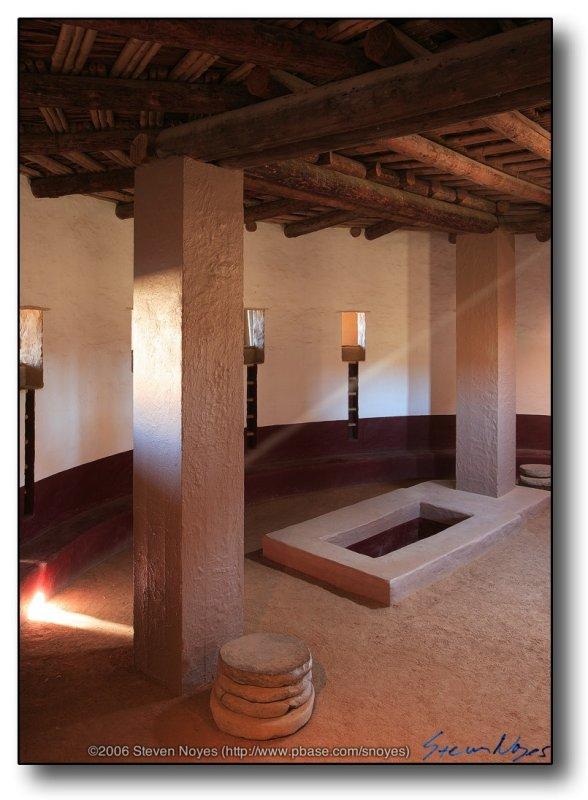 Aztec Ruins : Aztec Columns