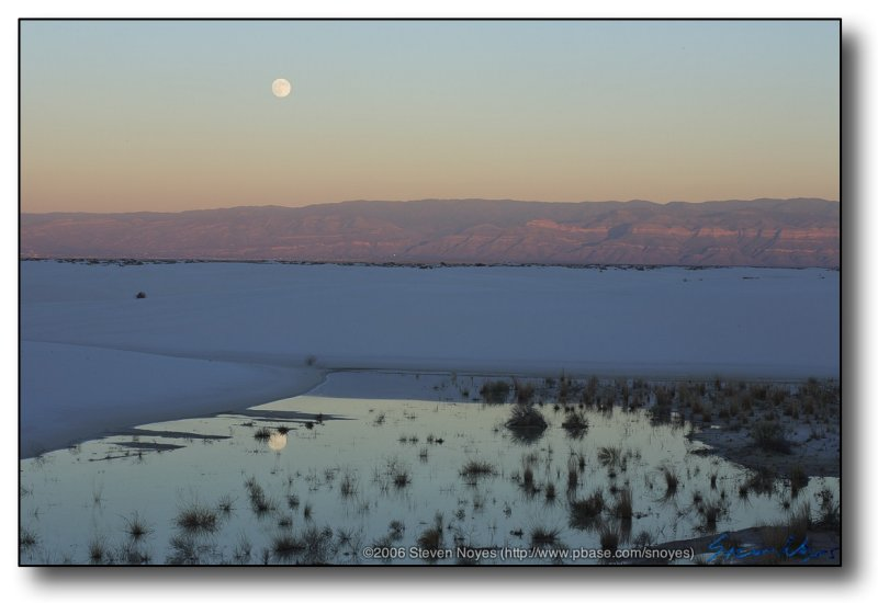 White Sands : Reflection Moon