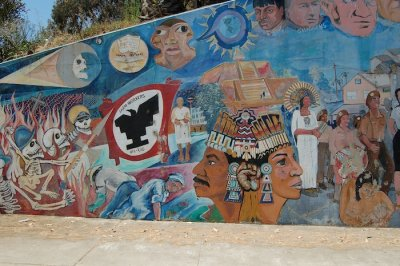 Murals of Chicano Park Photo Gallery by Walter Otto Koenig at pbasecom