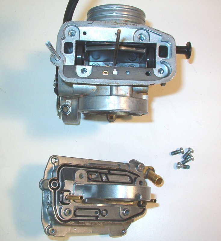 FCR Carb Disassembly for Pump Nozzle Access and Dual Spray Installation