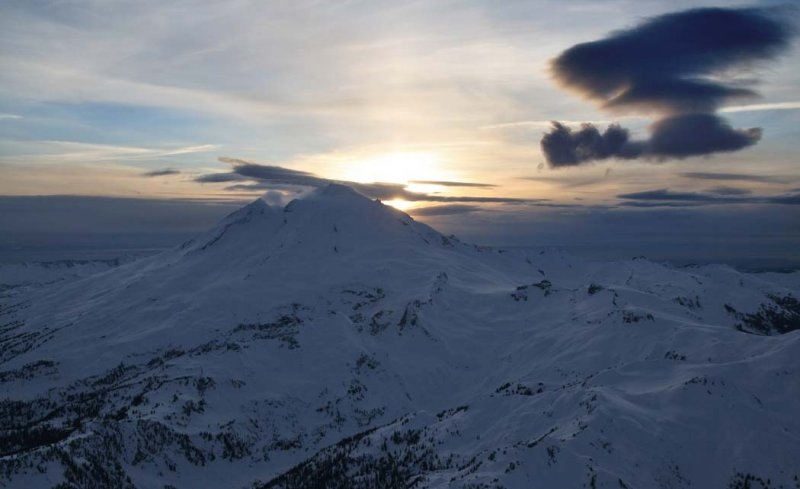 Mt. Baker, Sunset (MtBaker030407-_01.jpg)