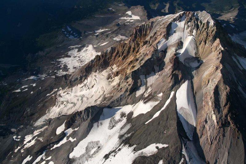 Mt. Hood From 13,500 <br> (Hood082407-_676.jpg)