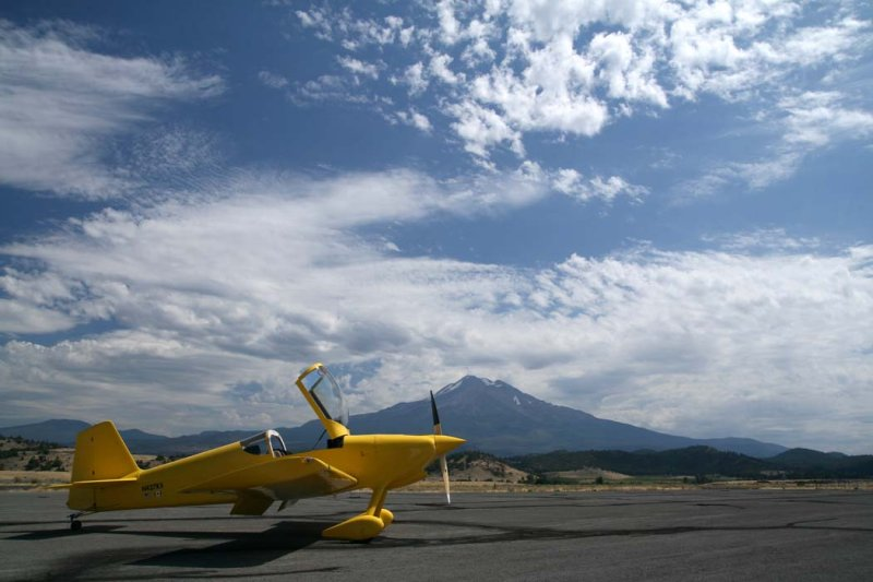 On The Ground At Weed, California <br> (Weed082907-_4.jpg)