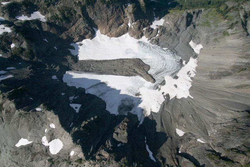 White Mountain Glacier, Detail <br> (ONP092607-_235.jpg)