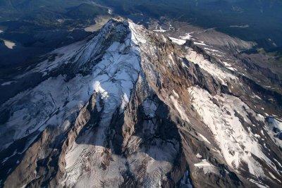 Mt. Hood From 13,500 <br> (Hood082407-_634.jpg)