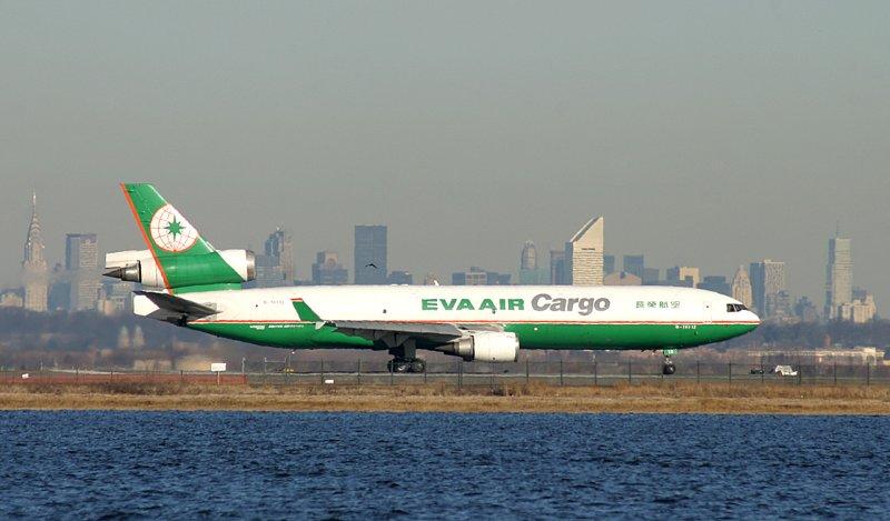 EVA Air Cargo MD-11 began takeoff roll, JFK, March 2007
