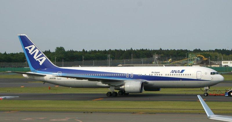 All Nippon 767-300, NRT, May 2005