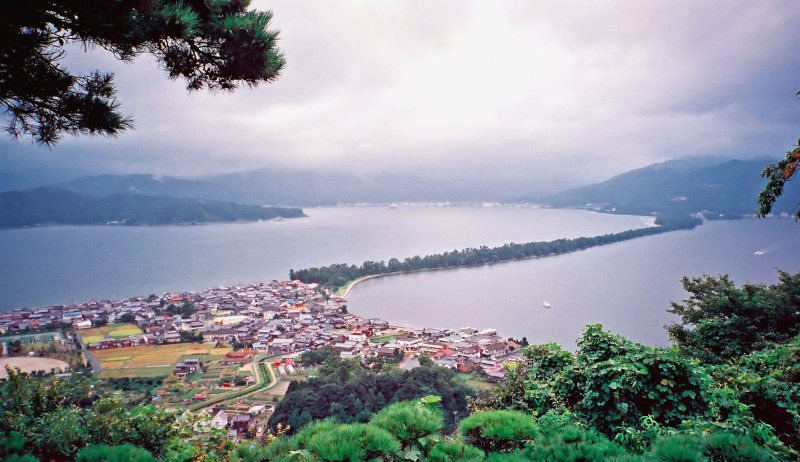 Amanohashidate - one of Japans 3 scenic views