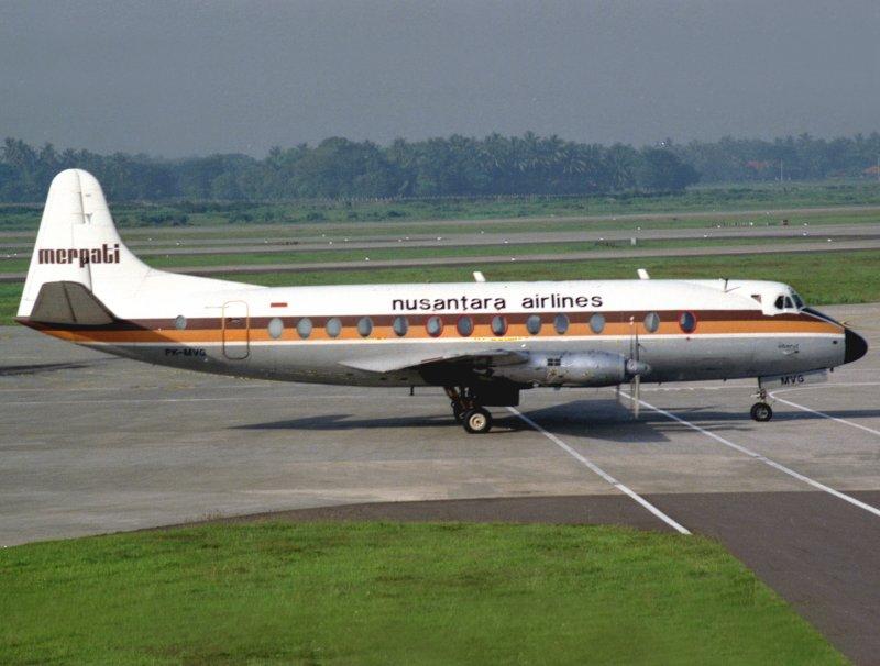 Vickers Viscount PK-MVG